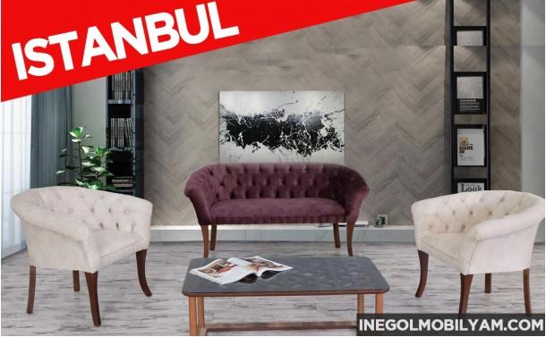 İstanbul Çay Seti koltuk