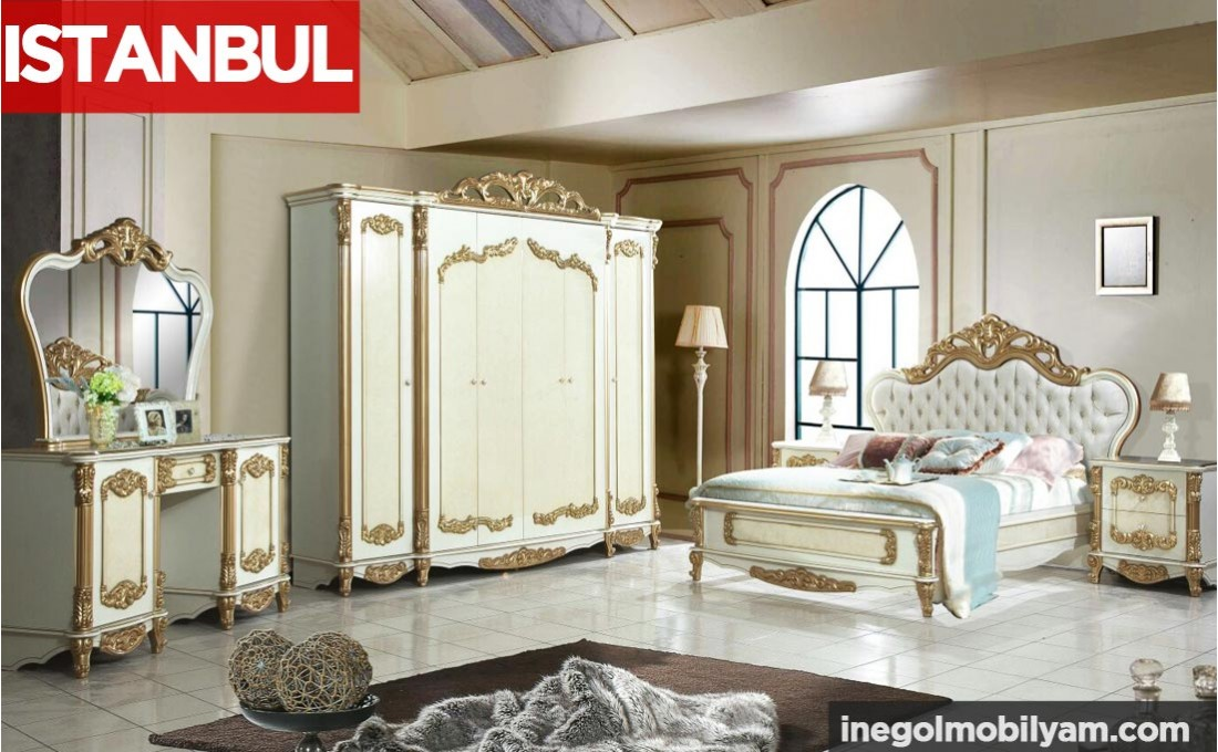 İstanbul Klasik Yatak Odası