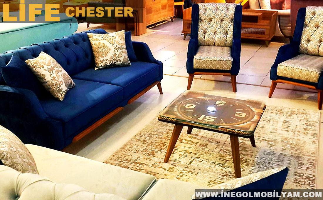 Life Chester Koltuk Takımı 4499 TL