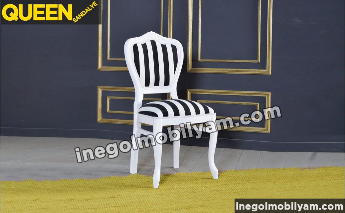 Queen Klasik Sandalye