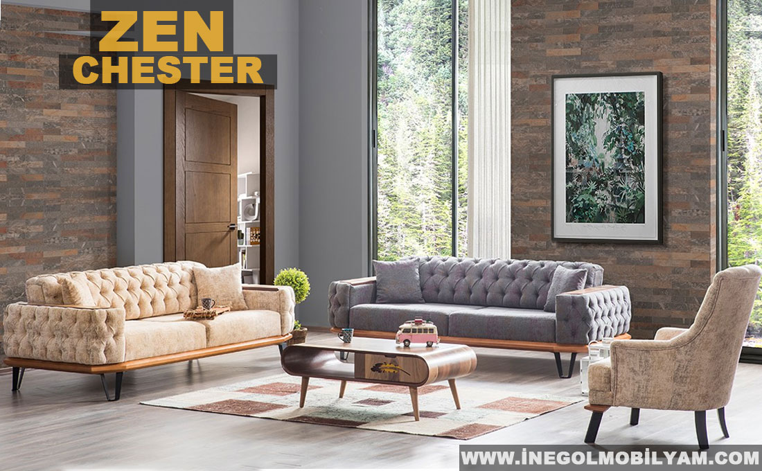Zen Chester  Koltuk Takımı 5900 TL
