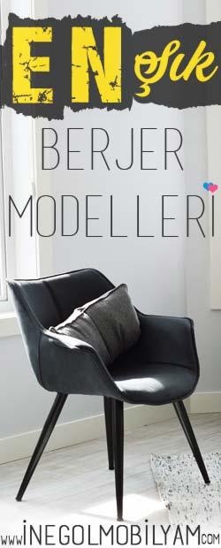 berjer tekli koltuk modelleri